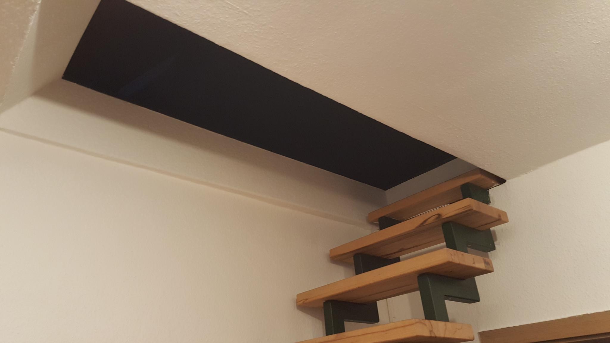 Gewaltig Dachboden Ausbauen Treppe Dekoration Von Extrem Luke Täglich Öffnen Und Schließen (,