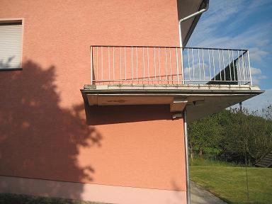 Dachrinne Am Balkon Wie Kann Ich Sie Verschonern Garten