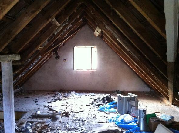 von rechts - (Haus, Hausbau, Renovierung)