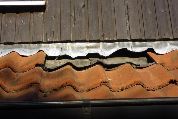 Dachanschluß - (Reparatur, Dach)