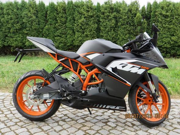 Ktm Rc 125 - (Auto, Motorrad, KTM)