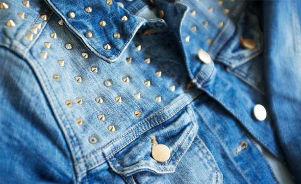 competitive price 2cbdb 46183 Zara jeansjacke nieten damen – Beliebte Jacken für die ...