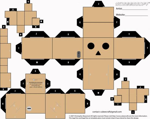 Danbo Amazon Figuren Basteln