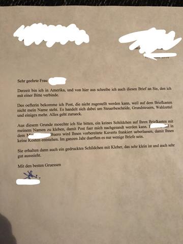 Darf Der Vermieter Mich Kundigen Post Kundigung Briefkasten