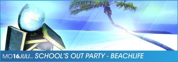 School's out Party ab 16 - (Disco, Jugendschutz, 16-jahre)