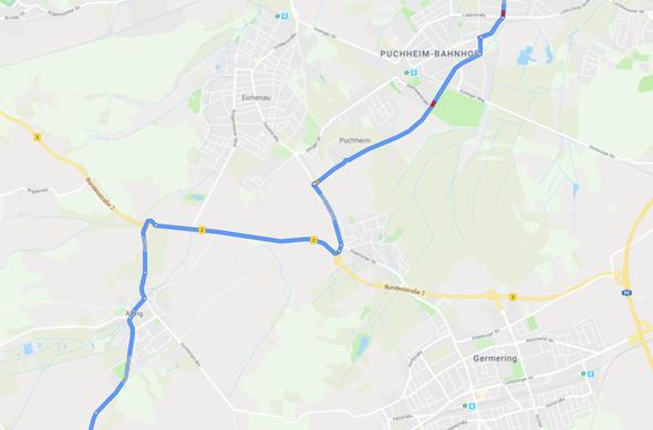 Darf ich auf dem Abschnitt der B2 mit nem Moped auto fahren? (45kmh)?