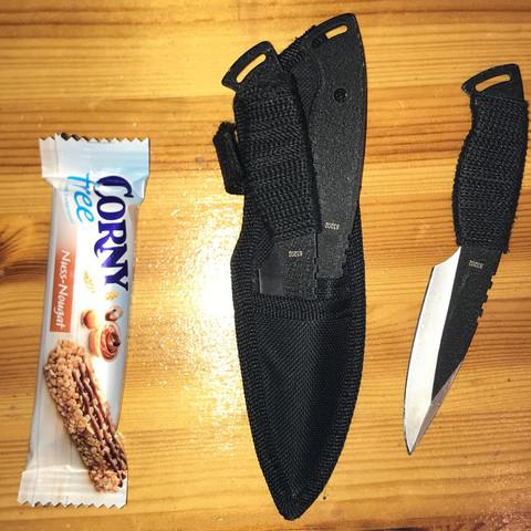 (Der Corny Riegel dient als maß) - (Gesetz, Messer, Waffenrecht)