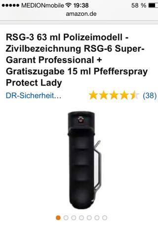 RSG-3  - (pfefferspray, RSG-3)