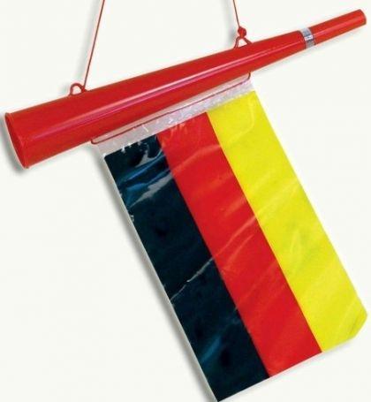 Diese Tröte habe ich! - (fan-troeten, troete-in-stadion, vuvuzela-troeten)