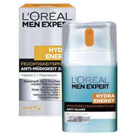 L'oéal Men Expert - Hydra Energy Creme - (Creme, Loreal, Männerkosmetik)