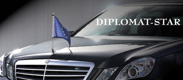 Diplomaten Flagge - (Recht, Deutschland, Gesetz)