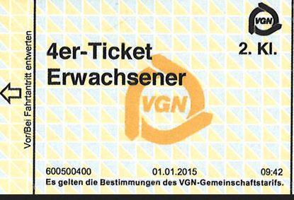 Ticket - (Ticket, Fahrkarte)