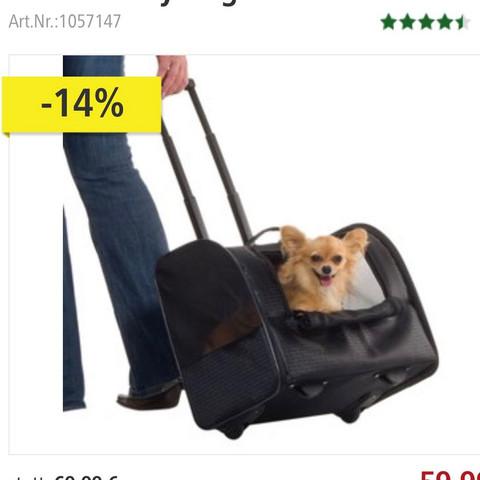 Das ist der Trolley - (Hund, Urlaub, Ausland)