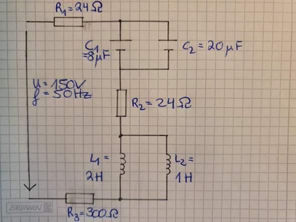 Darf man den Gesamtwiderstand berechnen(Kondensator,Spule)?
