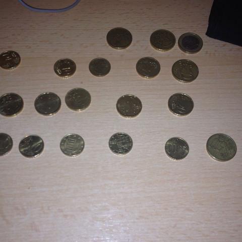 Darf Man Dieses Münzen Wechseln Geld Geschäft Euro