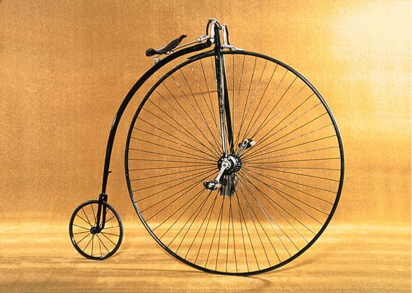 Hochrad - (Fahrrad, Straße)