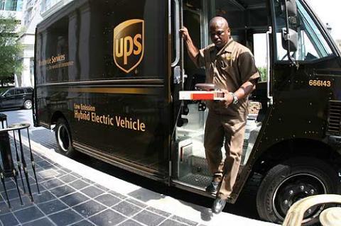 UPS - (UPS, Lieferdienst)