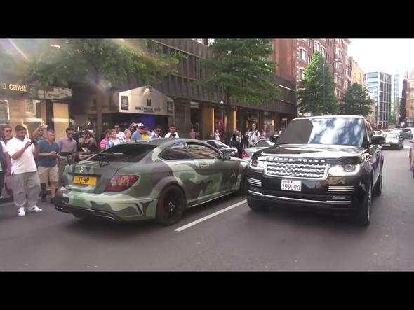 Mercedes C63 /////AMG mit Spoiler - (Auto, Gesetz, Strafe)
