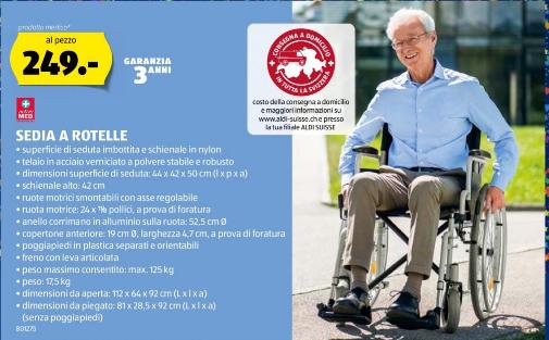 Darf man sich bei Aldi ein Rollstuhl kaufen?