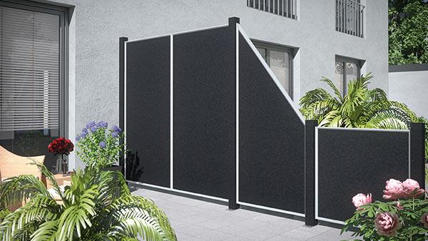 darf mein nachbar meinen 1 80 sichtschutz verbieten gesetz nachbarrecht. Black Bedroom Furniture Sets. Home Design Ideas