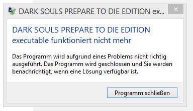 Die Fehlermeldung! - (Spiele, dark souls)