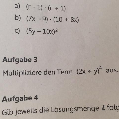 Übungsarbeit Mathe Mathematik klasse 8 - (Schule, Mathe, Mathematik)