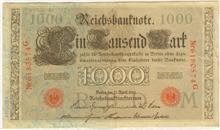 DM aus 1910 - (Geld, Finanzen, Allgemeinwissen)