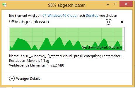 Kopiervorgang, der sich immer aufhängt. - (Computer, Windows, Windows 7)
