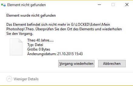 Fehler - (Windows, löschen, entfernen)