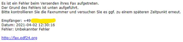 Datei ohne Faxgerät faxen?