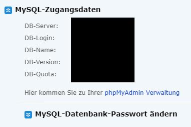 Datenbank-Verbindung?
