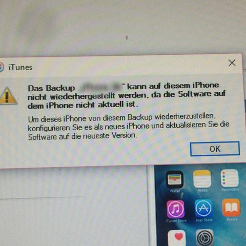 Backup Iphone Auf Neues Iphone Übertragen