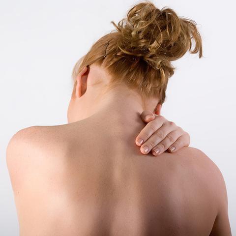 Das ist die Stelle - (Schulter, Nacken, Kribbeln)