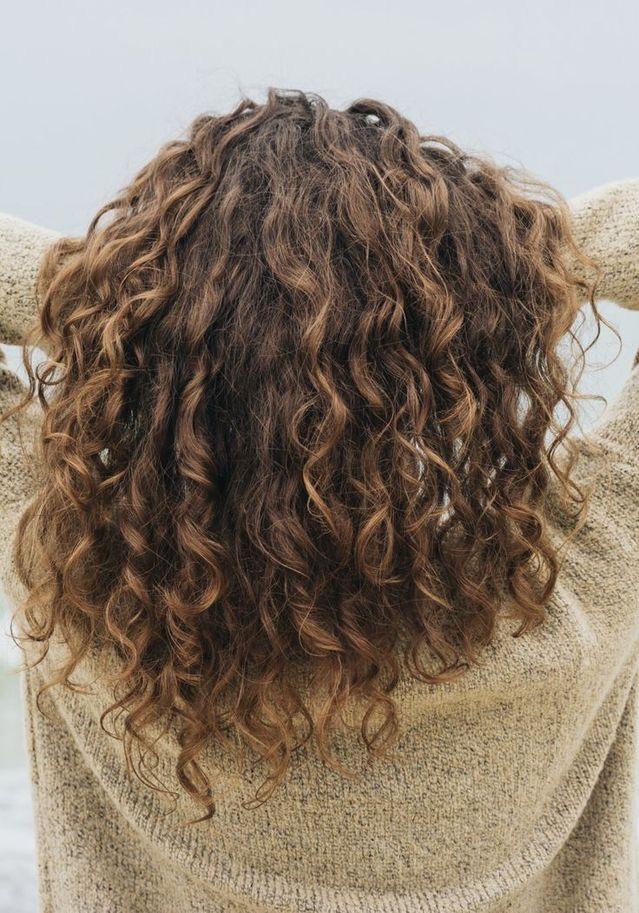 Haare Dauerwelle