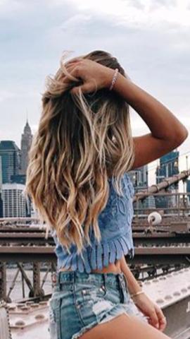 Lange glatte haare dauerwelle