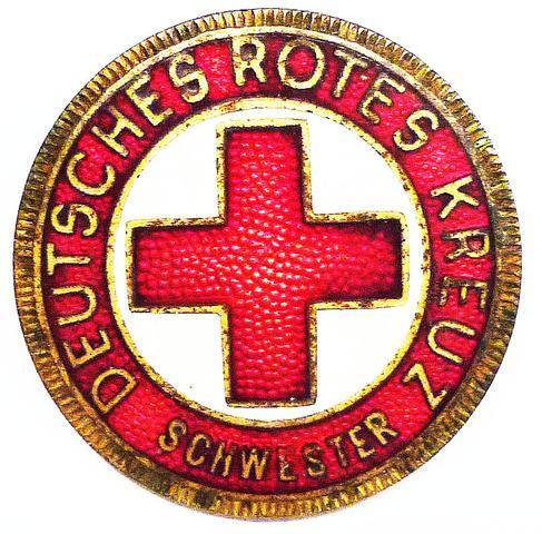DRK-DDR Schwesternbrosche - (Gesundheit, Mode, Krankenhaus)
