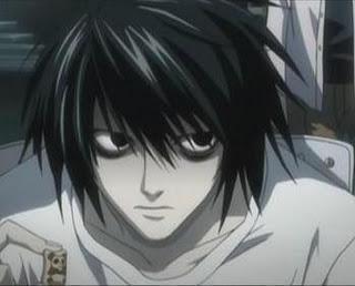 Death Note L Lawliet Ryuzaki, Warum augenringe?