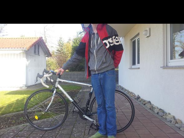 Fahrrad - (Fahrrad, gebraucht, Rennrad)