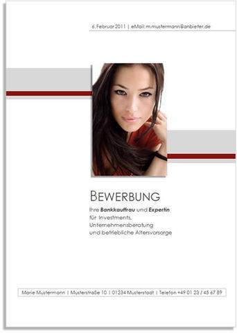 Deckblatt Für Bewerbung Wie Foto Gestalten Können Excel