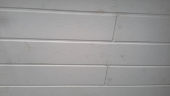 Decke Holzpaneele im Bad streichen? (Holz)