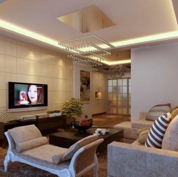... Beispielbild Decke   (Wohnzimmer, Deckengestaltung)