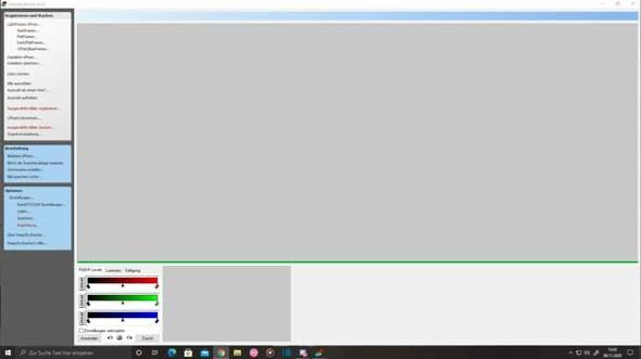 DeepSkyStacker Bild plötzlich verschwunden?