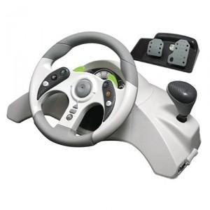 MC2 Racing Wheel - (xbox360, Lenkrad)