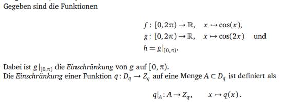 Beispiel - (Mathe, Studium)