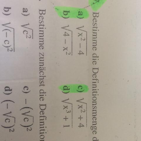 Nur die markierten Aufgaben  - (Schule, Mathe, Hausaufgaben)