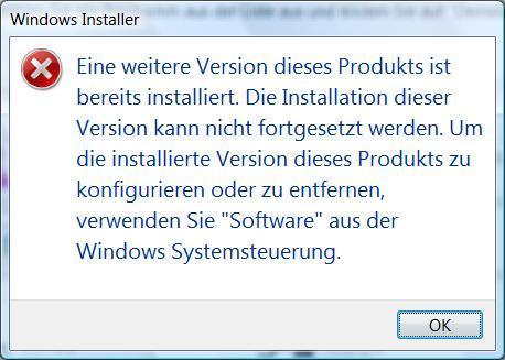 Fehlermeldung - (Windows, Fehlermeldung, Videobearbeitung)