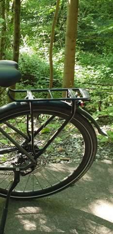 Den Gepäckträger (Fahrrad) anpassen (s. foto)?