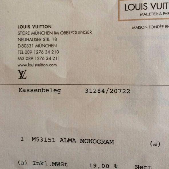 Original Louis Vuitton Taschen Ebay