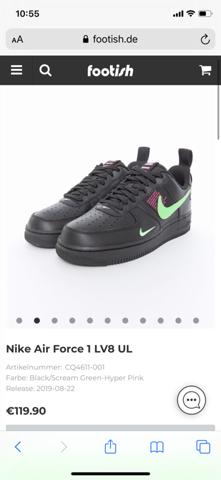 Denkt ihr dieser Schuh (Air Force)steigert sein Wert (Bild)?