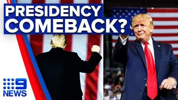 Denkt ihr Trump wird Präsident 2024 der Vereinigten Staaten von Amerika 🇺🇸?